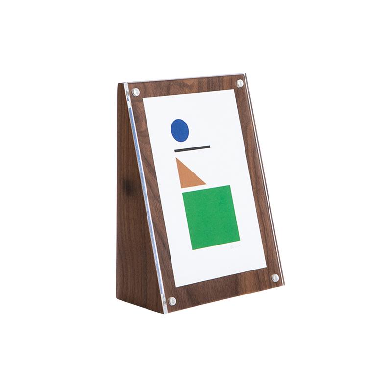 ANGOLO FRAME 18×13 WALNUT