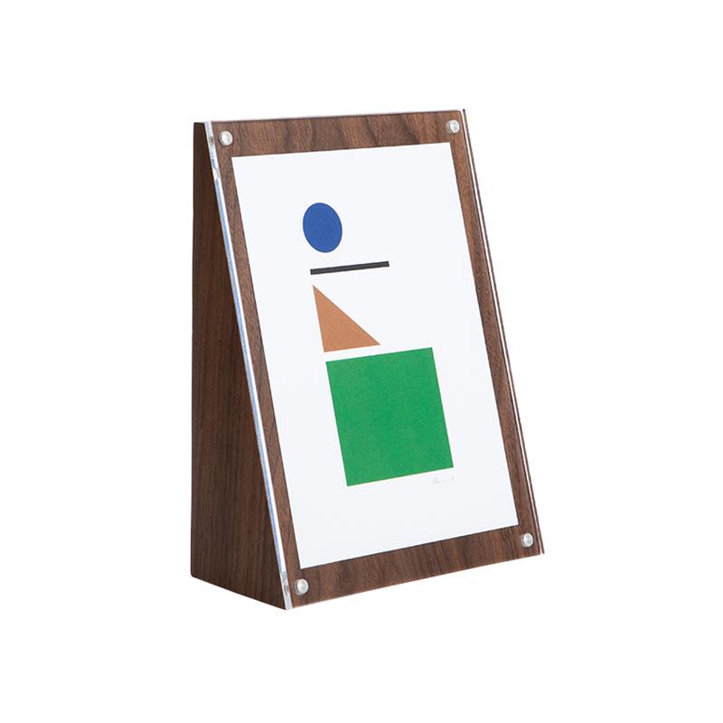 ANGOLO FRAME 21×15 WALNUT