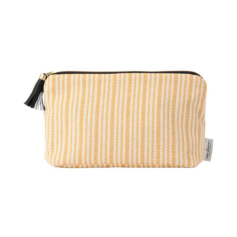 PIPPY SCALLOP LARGE WASH BAG RAPESEED