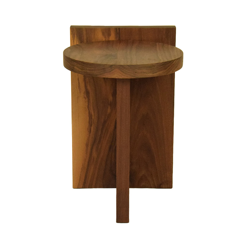 GOFI TACO SIDE TABLE WALNUT