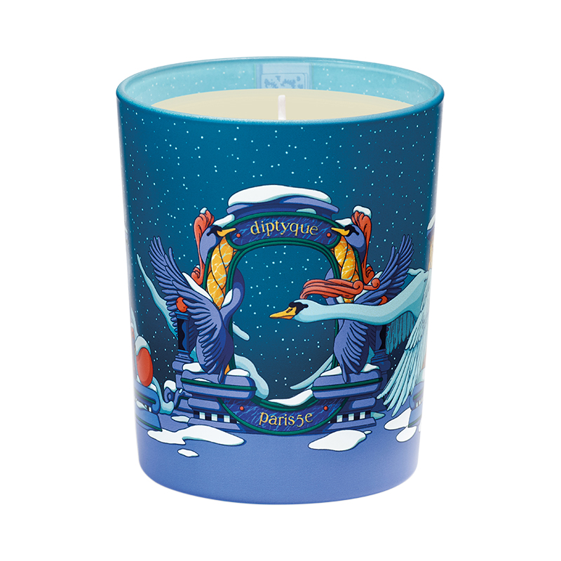 DIPTYQUE 2020 HOLIDAY CANDLE AMBRE PLUME 190