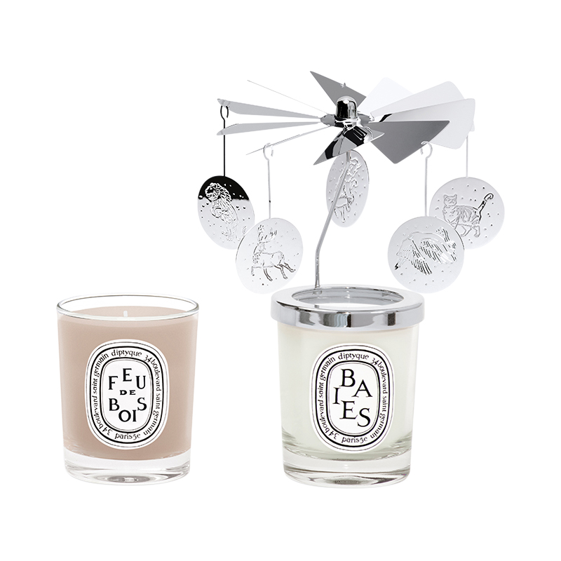DIPTYQUE 2020HOLIDAY CARROUSEL&CANDLE COFFRET