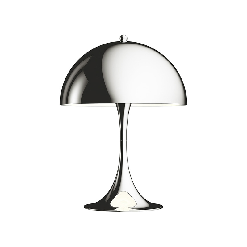 PANTHELLA MINI TABLE LAMP CHROME  (Louis Poulsen)
