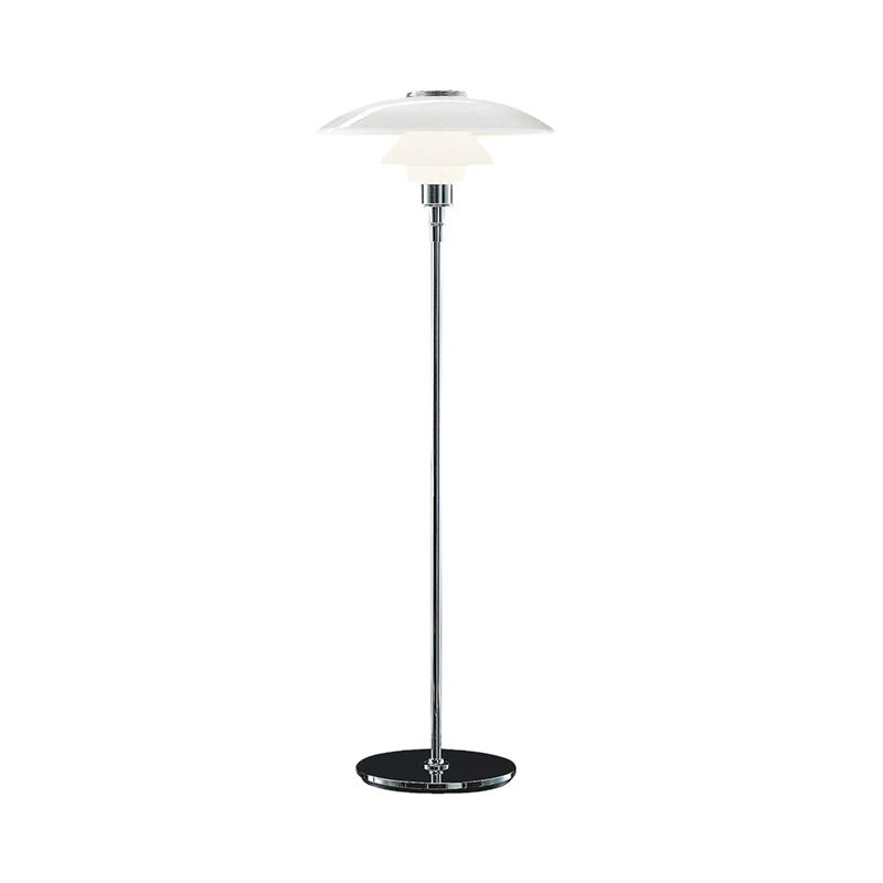 PH 4 1/2 - 3 1/2 GLASS FLOOR LAMP(Louis Poulsen)