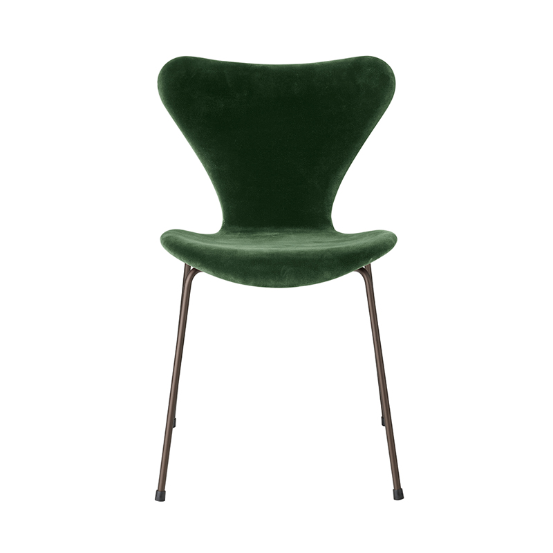 SERIES 7 CHAIR VELVET BELFAST FOREST GREEN