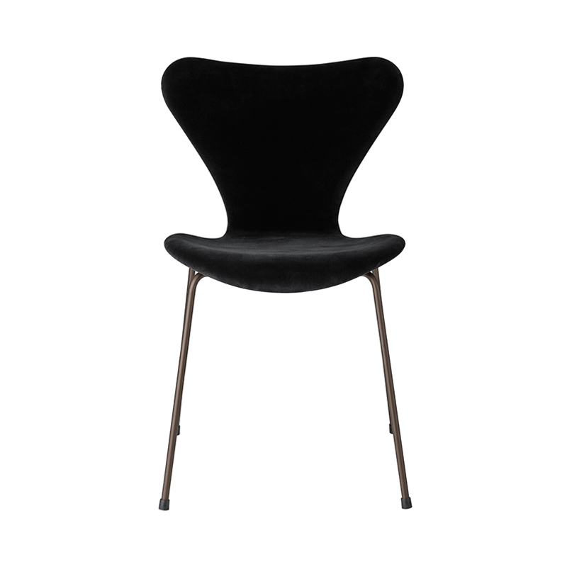 SERIES 7 CHAIR VELVET BELFAST NIGHT BLACK
