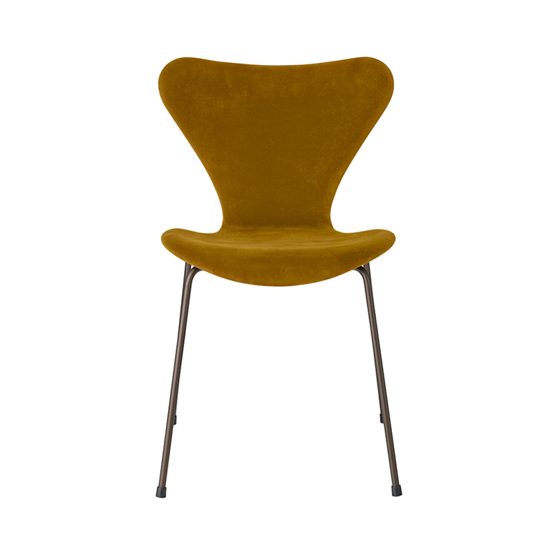 SERIES 7 CHAIR VELVET BELFAST SOFT OCHRE