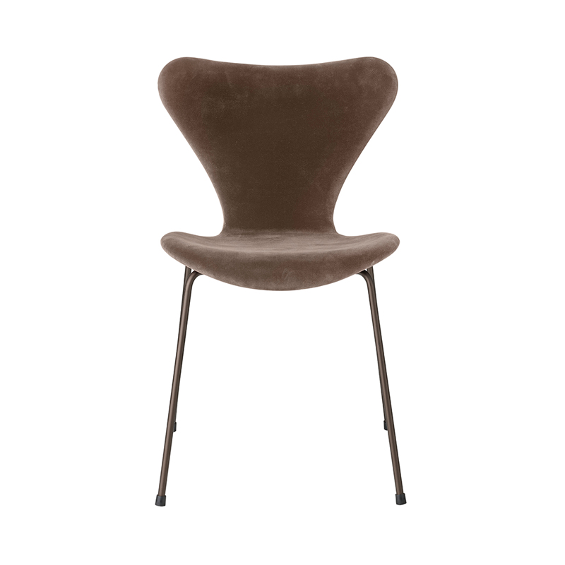 SERIES 7 CHAIR VELVET BELFAST GREY BROWN
