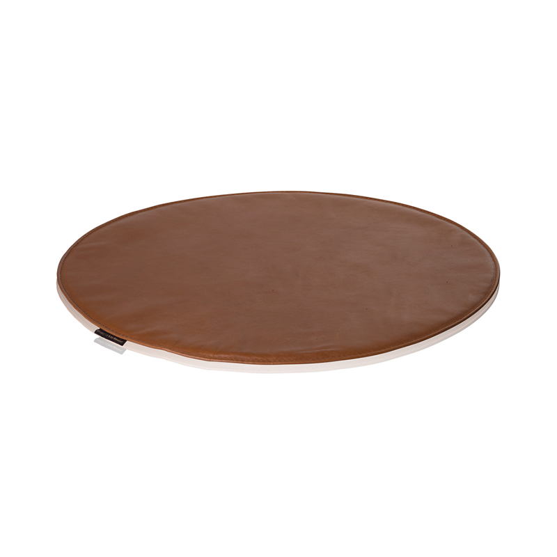 SEAT CUSHION FOR 7 CHAIR WILD LEATHER WALNUT