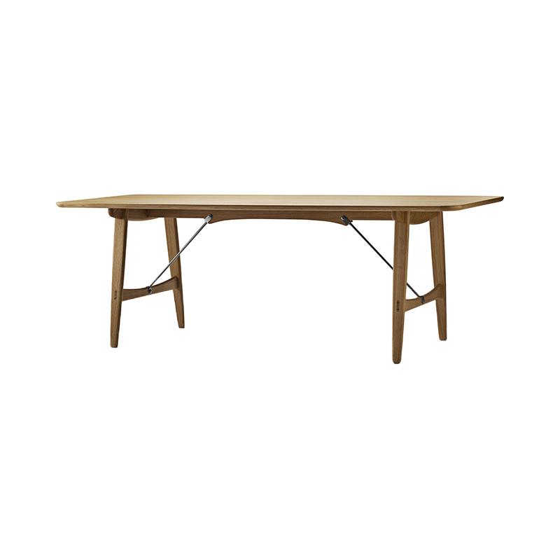 BM1160 HUNTING TABLE OAK/OIL/STEEL