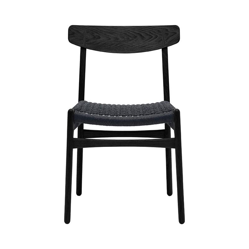 CH23 OAK BLACK /BLACK SEAT O CAP