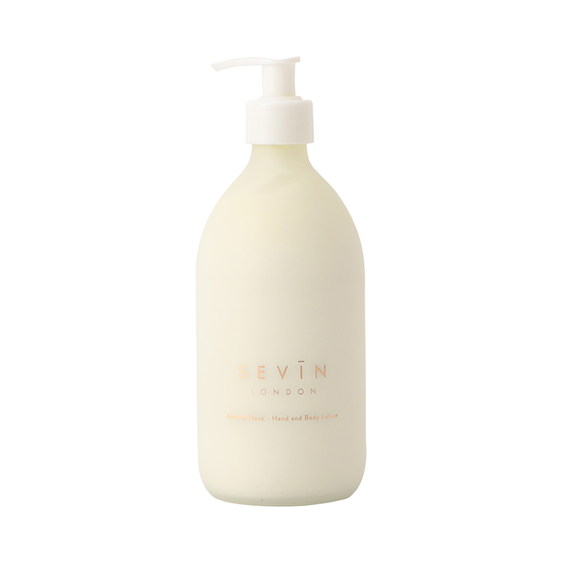 SEVIN MARBLE BLACK HAND AND BODY LOTION 500ML