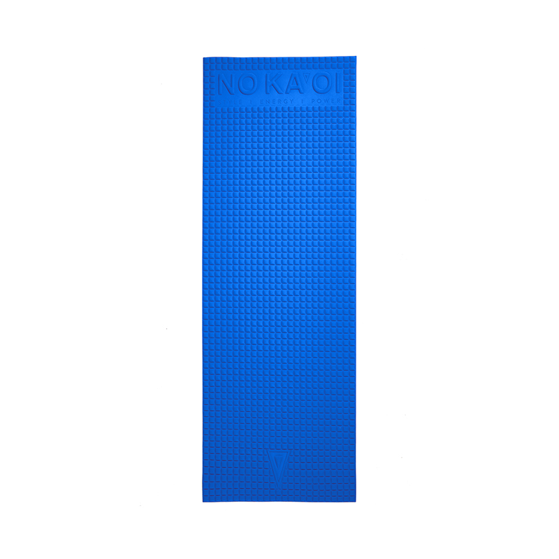 YOGA MAT MICROFIBERS ROYAL BLUE 14 14