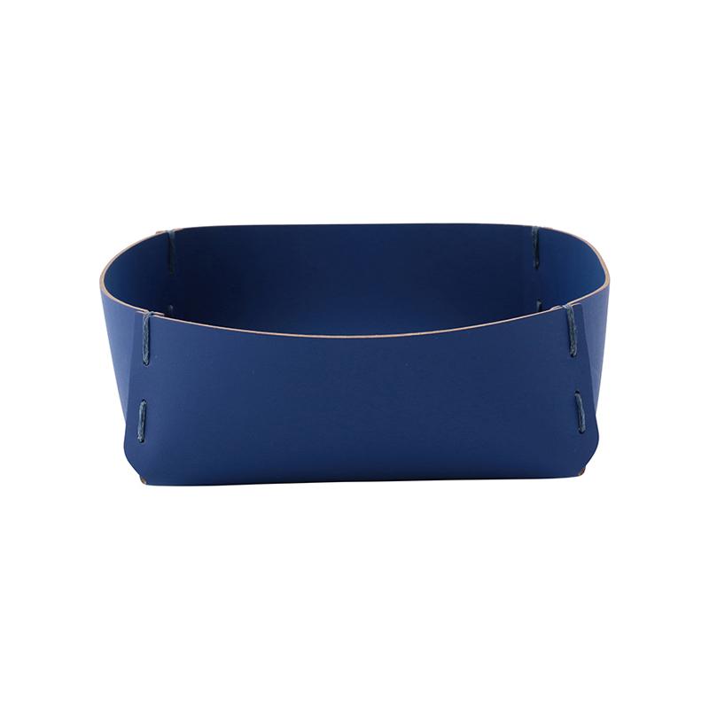 RUCA SQUARE BASKET 21X7X21 CONRAN BLUE