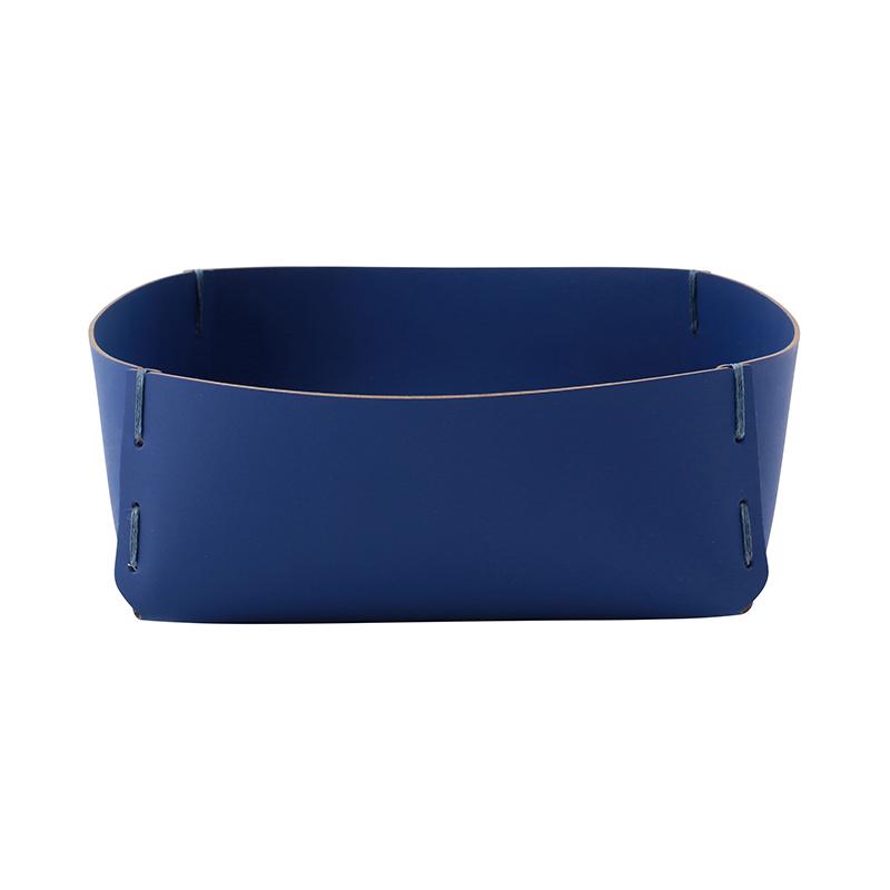 RUCA SQUARE BASKET 26X9X26 CONRAN BLUE