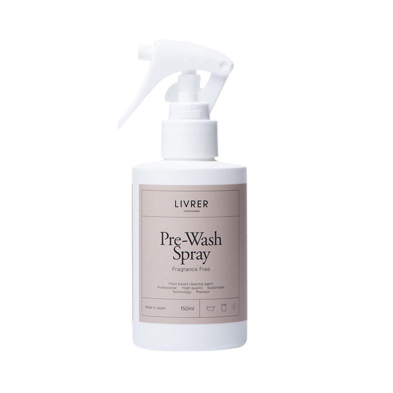 LIVRER PRE WASH SPRAY FRAGRANCE FREE