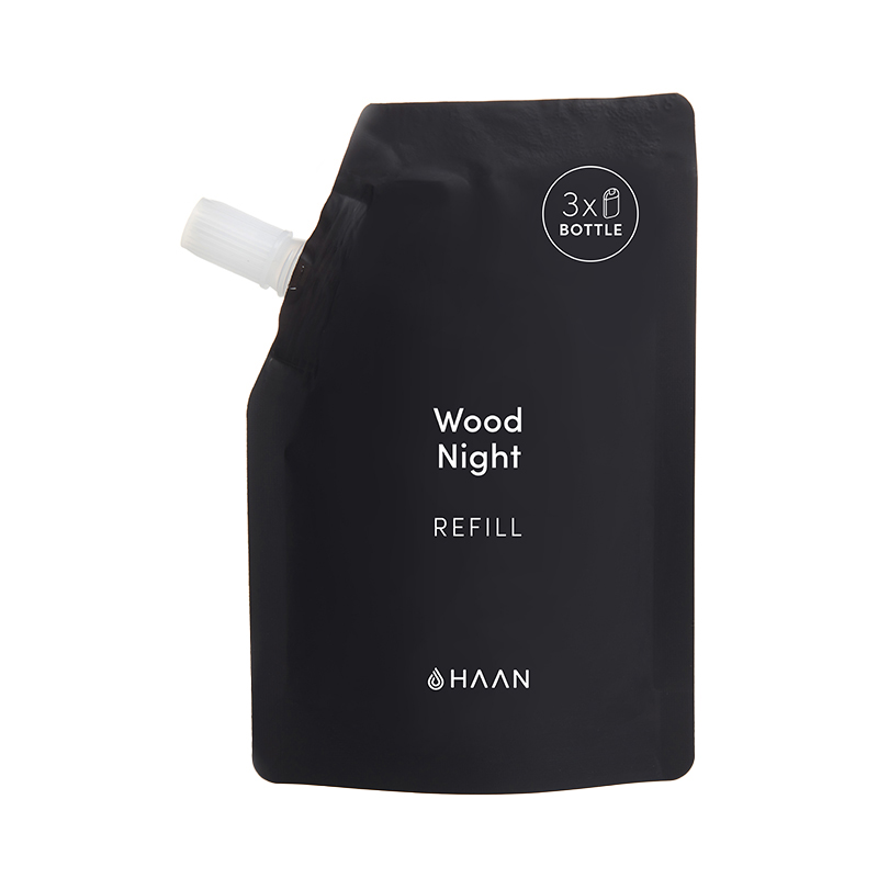 HAAN HAND CLEANSERY REFILL WOOD NIGHT
