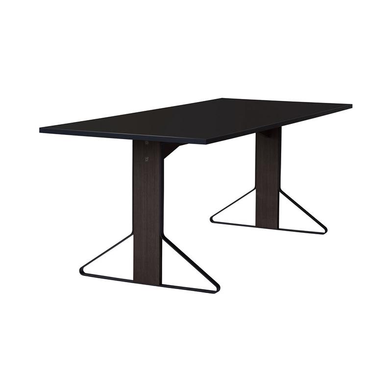 KAARI TABLE REB001 BLACK LAMINATE BLACK OAK