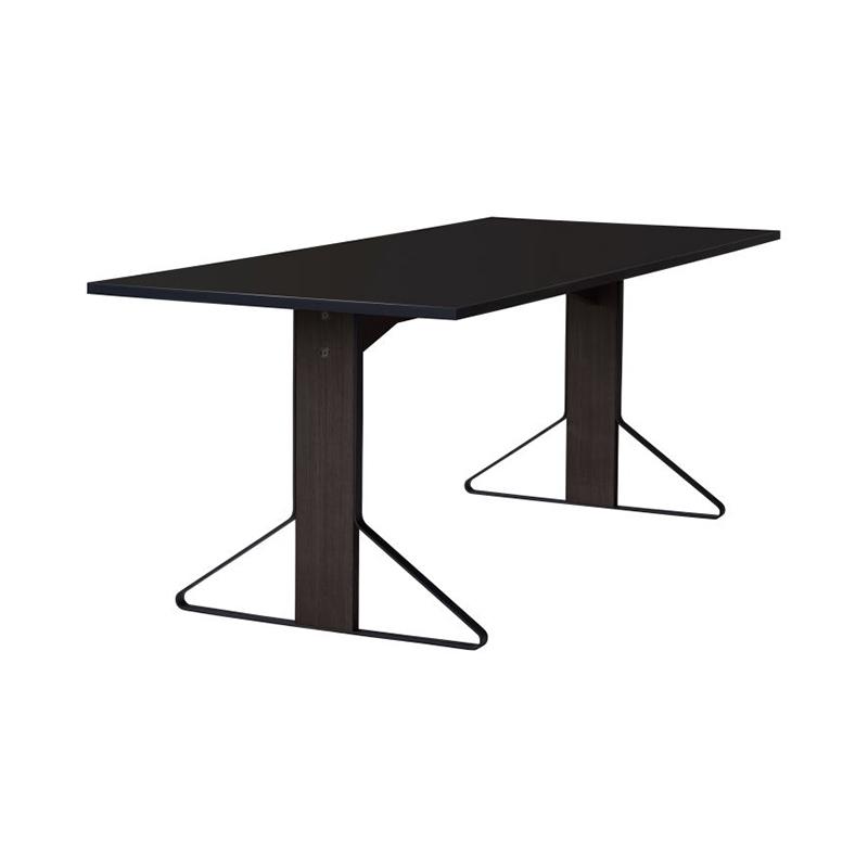KAARI TABLE REB012 BLACK LAMINATE BLACK OAK