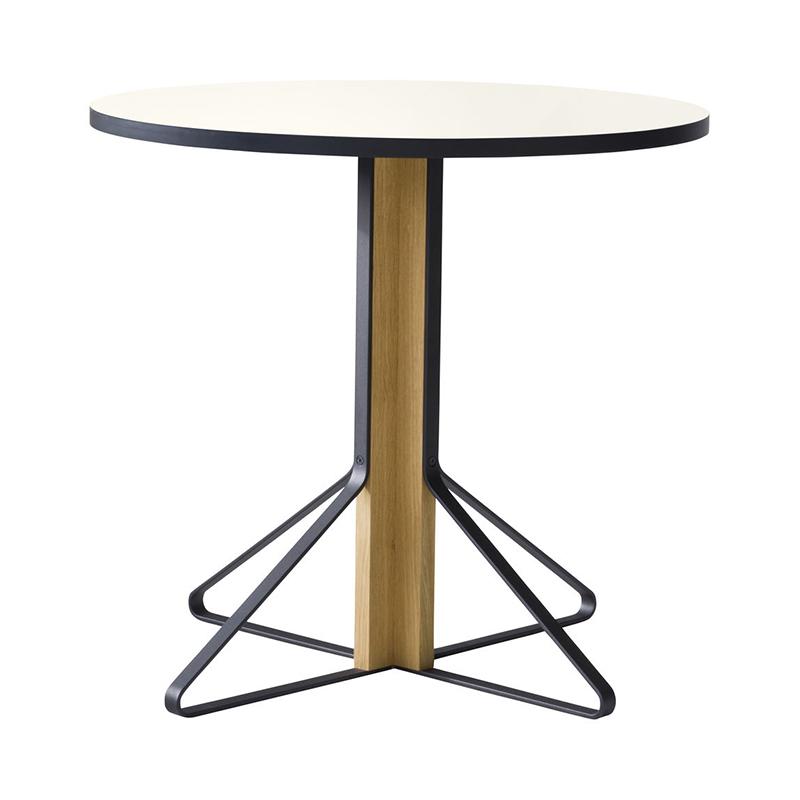 KAARI TABLE REB003 WHITE LAMINATE NATURAL OAK
