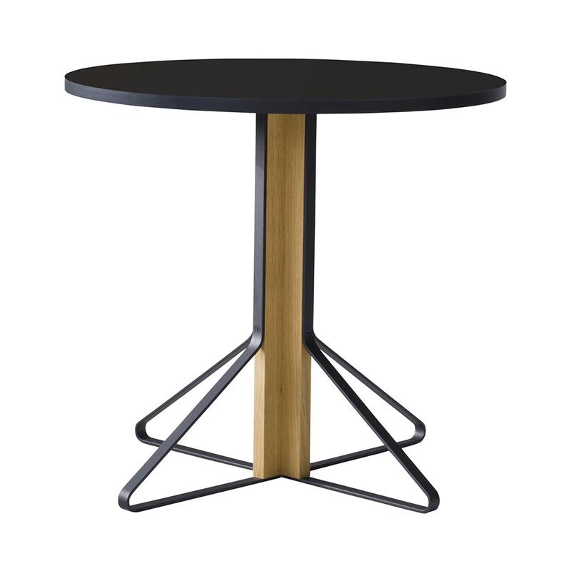 KAARI TABLE REB003 BLACK LAMINATE NATURAL OAK