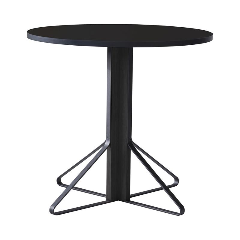 KAARI TABLE REB003 BLACK LAMINATE BLACK OAK