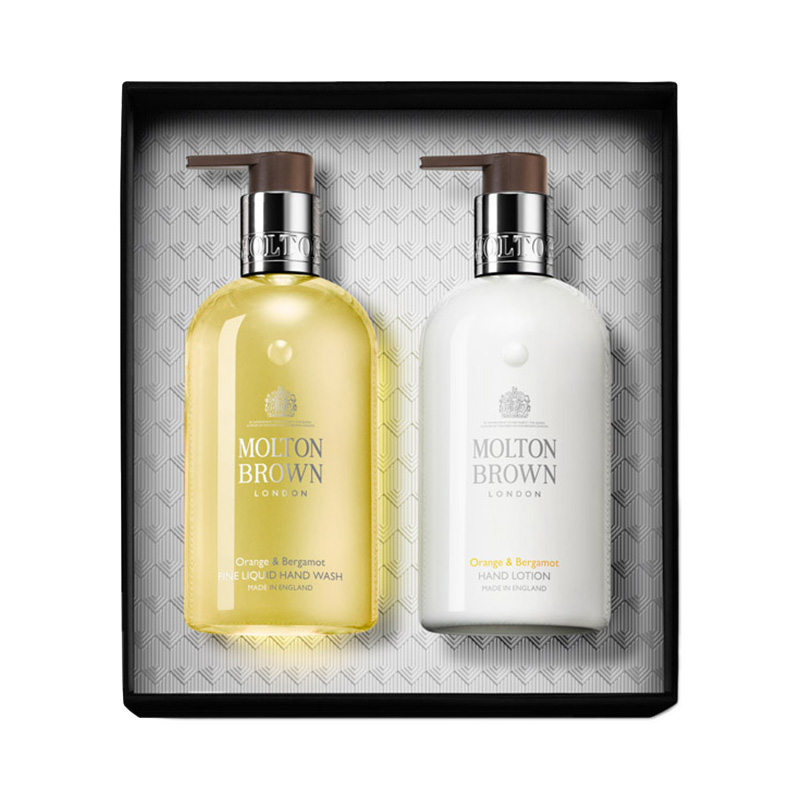 MOLTON BROWN ORANGE & BERGAMOT HAND KIT