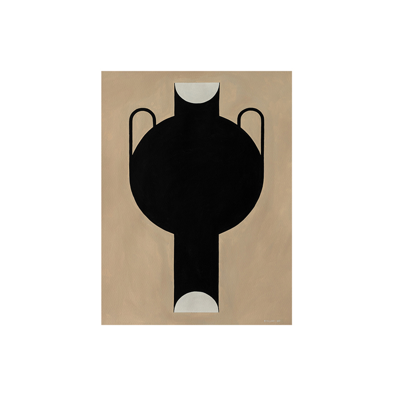 SILHOUETTE OF A VASE 07 30×40