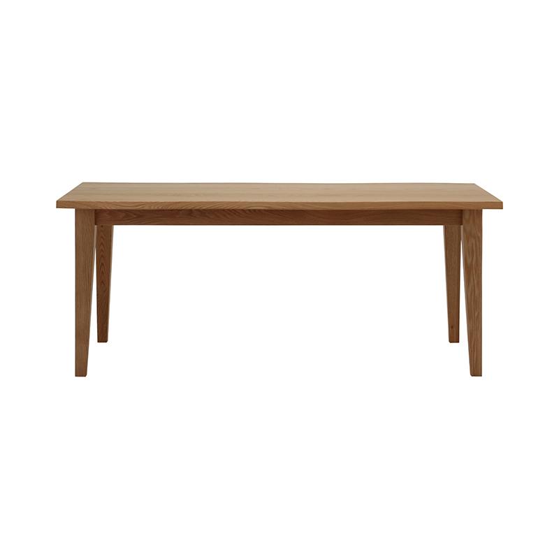 BYO TABLE A LEG 180X90 LIVE EDGE OAK UT