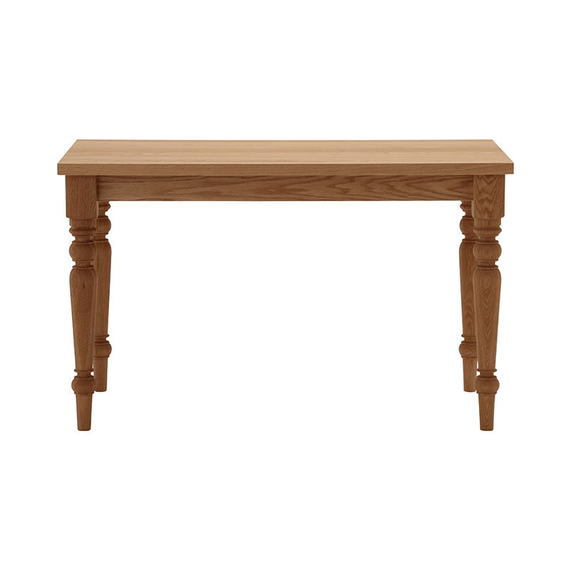 BYO TABLE D LEG 120X60 OAK OIL
