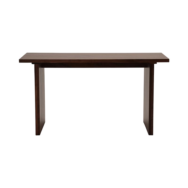 BYO TABLE C LEG 140X70 WALNUT URETHANE
