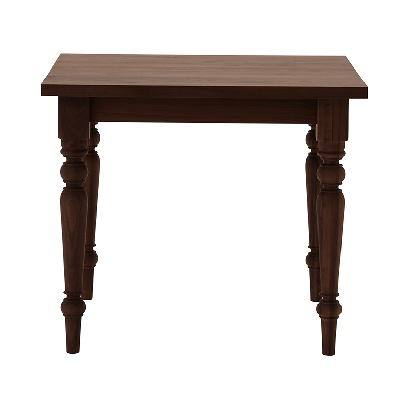 BYO TABLE D LEG 85X85 WALNUT OIL