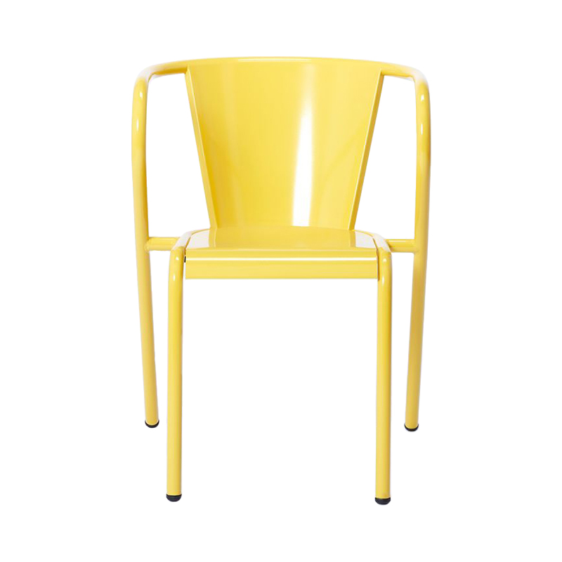 PORTUGUESE 5008 CHAIR YELLOW RAL 1012