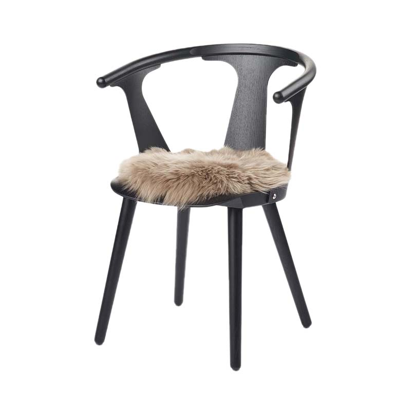 NZ SHEEPSKIN LONG SEAT COVER D38 TAUPE