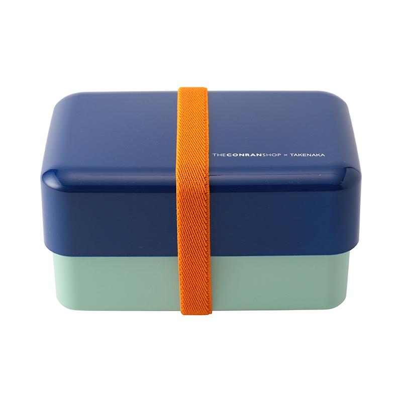 RECTANGLE LUNCHBOX CONRAN BLUE/MINT