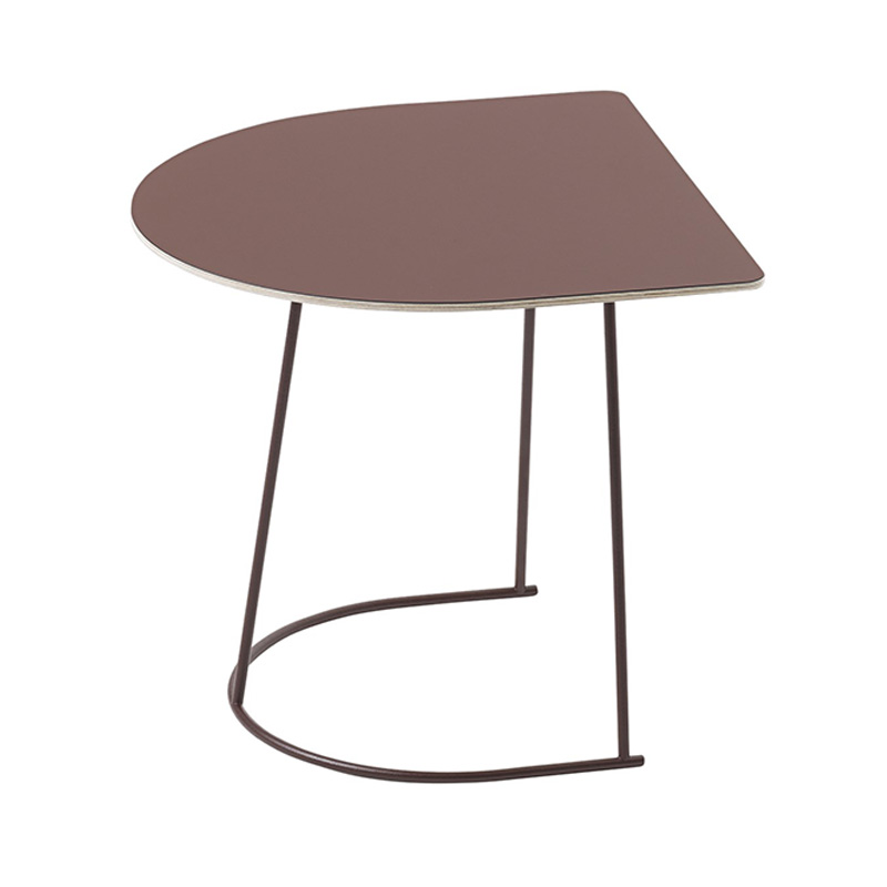 AIRY COFFEE TABLE HALF SIZE /PLUM