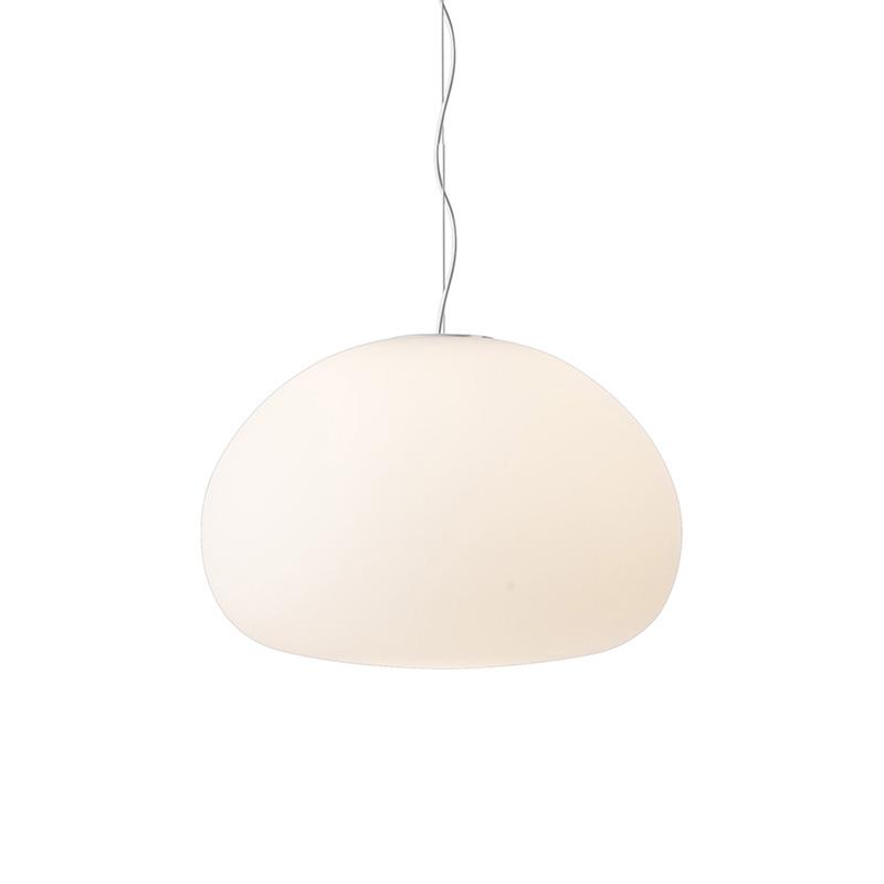FLUID PENDANT LAMP / LARGE, OPAL WHITE