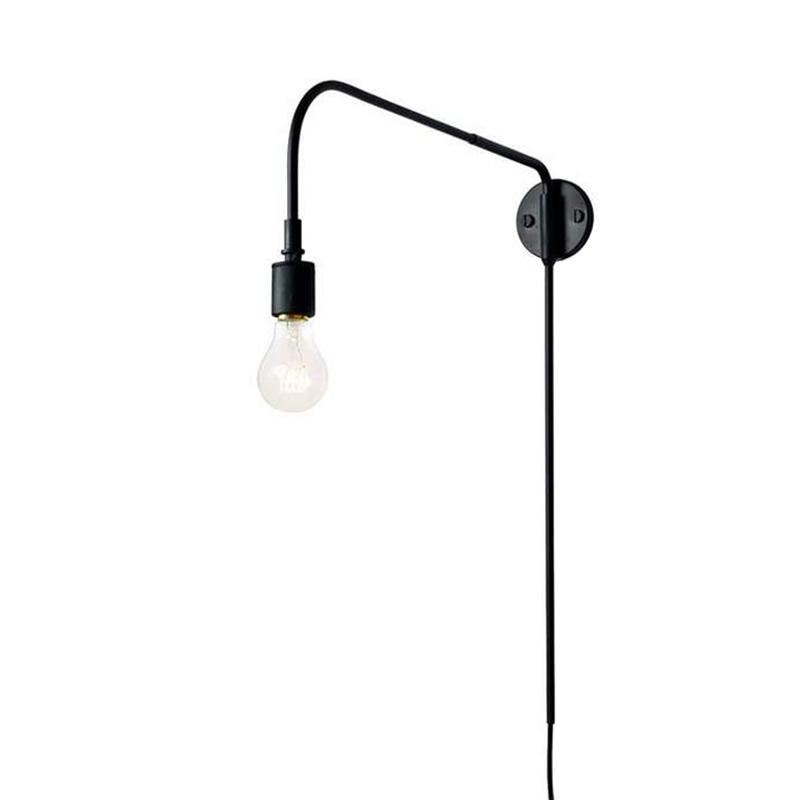WARREN WALL LAMP BLACK