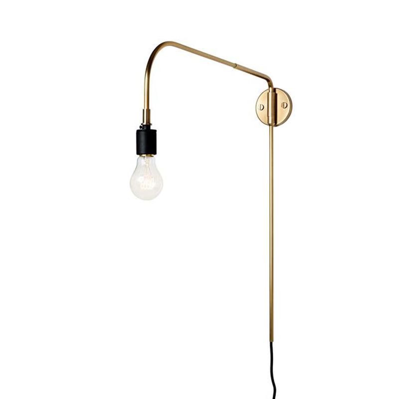 WARREN WALL LAMP BRASS