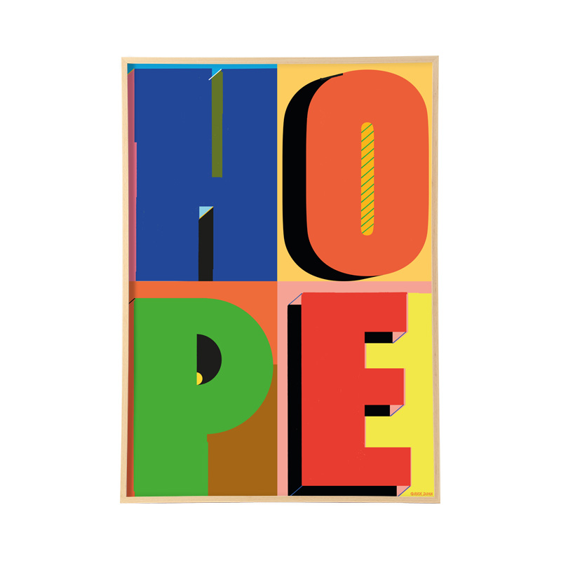 RUDE HOPE WITH FRAME 【フレーム付き】