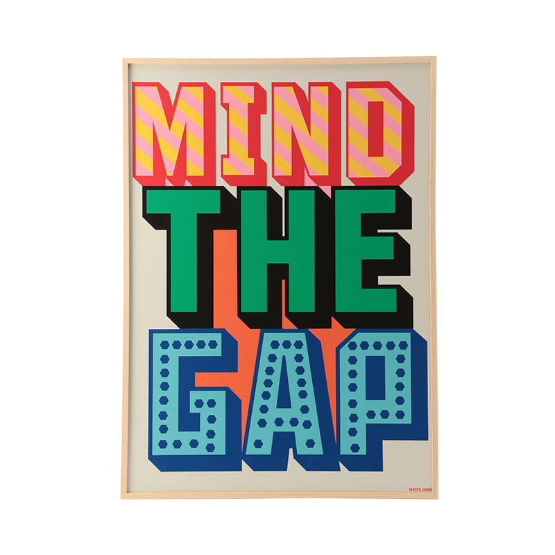 RUDE MIND THE GAP WITH FRAME 【フレーム付き】