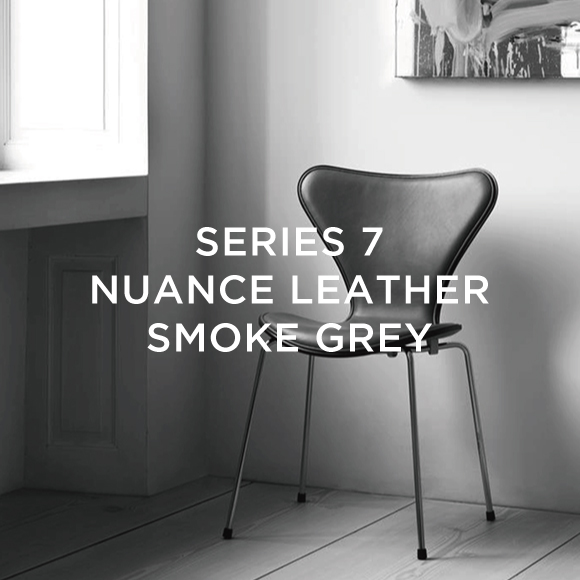 SERIES 7 CHAIR NUANCE LEATHER SMOKE GREY