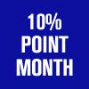 <strong>THE GREAT NEW DAYS 10% POINT MONTH</strong><br />7月3日(金)より、お買い上げ商品金額(税抜)の、10% のポイントがつく「10% POINT MONTH」を開催いたします。<br />詳しくはこちら