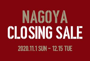 <strong>NAGOYA CLOSING SALE</strong>