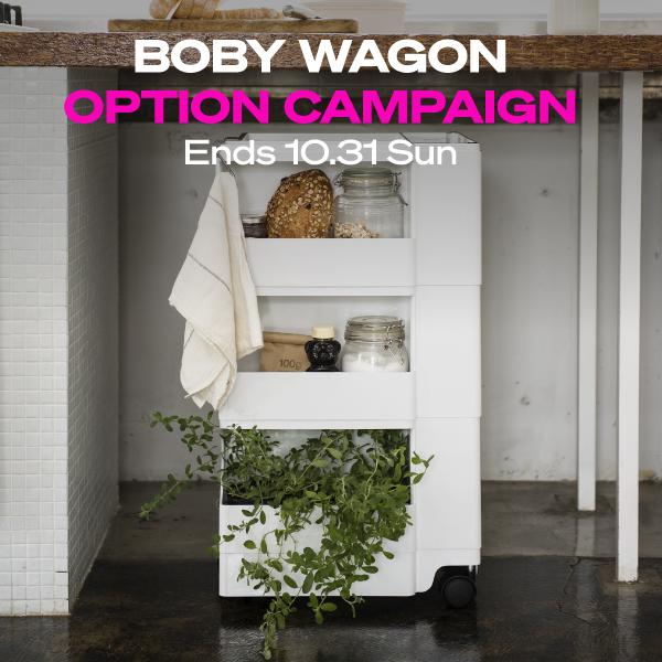 BOBYWAGON OPTION CAMPAIGN 2021AW